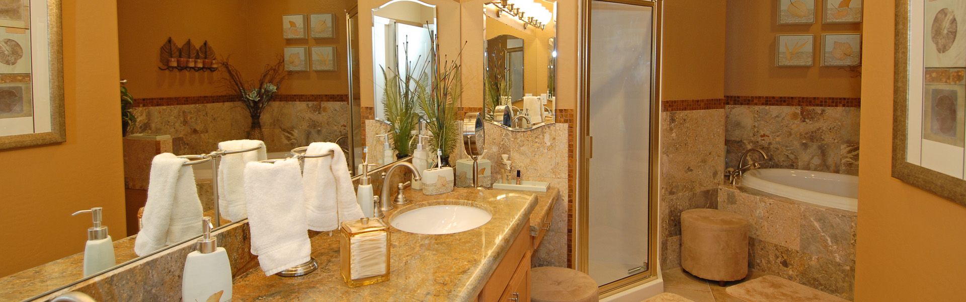 Luxury Condo Master Bath - After